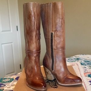 NWT in Box Freebird by Steven Tall Leather Boots